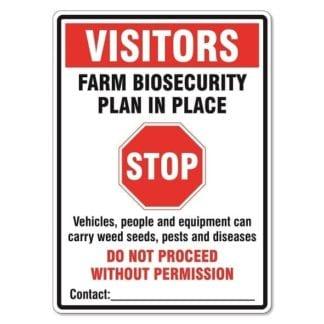 Biosecurity Plan